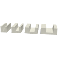 U - Блок (лотковый блок) СТОУНЛАЙТ™