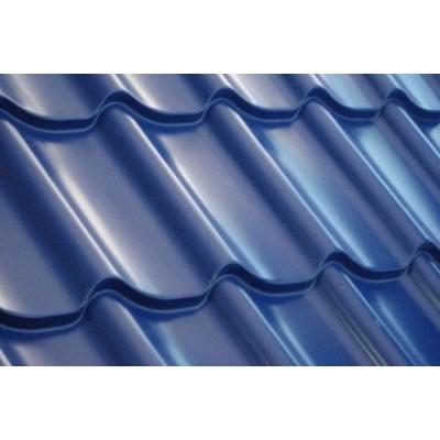 Металлочерепица DELTA 0,45 мм глянцевое/polyester/PE