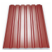 Профнастил ПС/ПК-20 0,45 мм матовое/polyester matt/PEMA