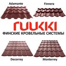 Металлочерепица Ruukki Decorrey 0,45 мм